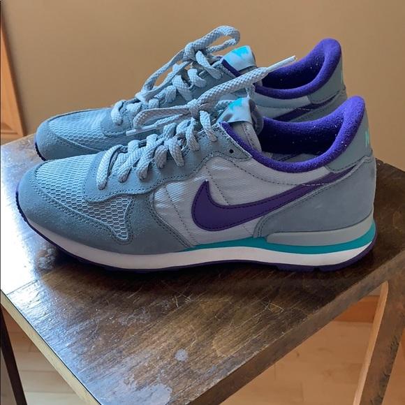 NIKE Internationalist ladies sneaker sneakers shoes Violet